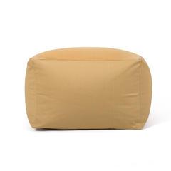 日式居家可拆洗 各色懒人沙发厂家直销一件 65×65×43cm 橙黄色