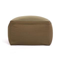 日式居家可拆洗 各色懒人沙发厂家直销一件 65×65×43cm 豆沙色