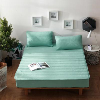 法芙娜家纺 双面水洗夹棉床笠(四季款) 120cmx200cm 蓝灰色
