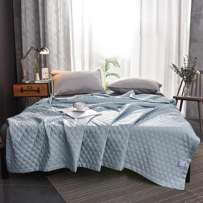 (总)法芙娜家纺 2019莫代尔天丝夏被 150x200cm 琉璃蓝