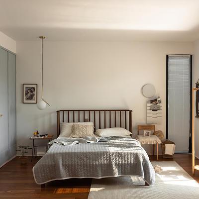 (总)法芙娜家纺 2021新款 针织棉夏被 全棉天竺棉夏凉被 150x200cm 纯色浅灰