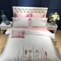 长绒棉绣花 1.5m(5英尺)床 1