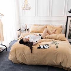 毛巾绣水晶绒 1.5m(5英尺)床 3
