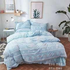 3d调花绒四件套件 1.5m(5英尺)床 3