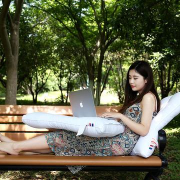 沃兰国际 全棉贡缎荞麦两用保健枕芯舒眠枕头