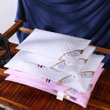 全棉荞麦枕头全荞麦壳枕芯护颈枕荞麦皮儿童单人硬枕两色可选