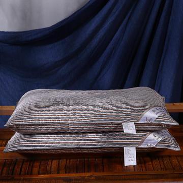 全棉英伦风荞麦枕头全荞麦壳枕芯护颈枕荞麦皮儿童单人硬枕