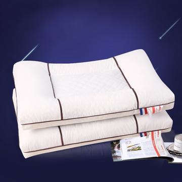 沃兰国际 全棉荞麦透气护颈保健枕芯保健护颈枕头硬枕