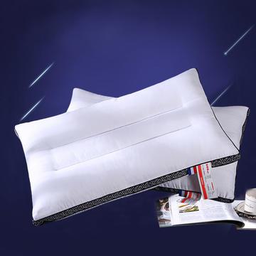 全棉酒店织带立体护颈枕芯五星级定型枕头芯