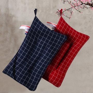 沃兰国际水洗棉羽丝绒枕芯时尚单人枕头护颈舒适枕枕(两色可选)