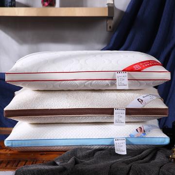 超柔针织定型热熔棉可水洗枕芯保健护颈枕头