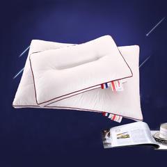 沃兰国际 全棉防羽布定型保健枕芯羽丝绒护颈椎枕头(含儿童款) 儿童款(黑边)