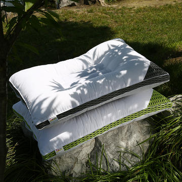 决明子透气全棉护颈保健枕芯(三色可选)保健护颈枕头
