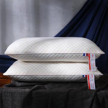 超柔针织泡泡水立方可水洗枕芯保健护颈枕头