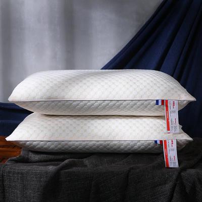 超柔针织泡泡水立方可水洗枕芯保健护颈枕头 泡泡针织棉舒适枕