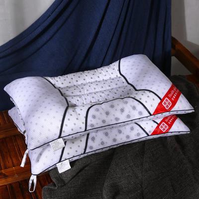 磨毛磁疗透气护颈保健枕芯安睡助眠枕头 磨毛磁疗枕