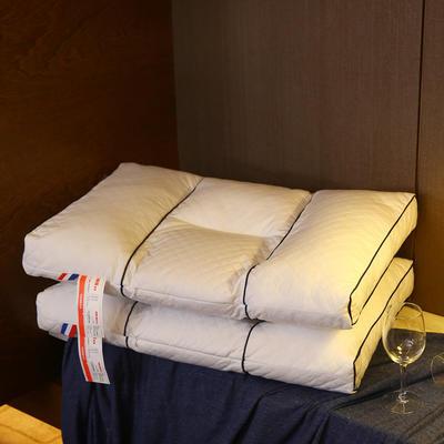 全棉绗缝荞麦两用保健枕芯安睡护颈枕头 全棉绗缝荞麦两用保健枕