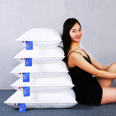 全棉贡缎靠垫抱枕方垫芯羽丝绒枕芯方枕头(多规格) 40*40