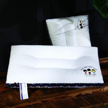 全棉加高烫画立体护颈枕芯五星级枕头定型保健枕