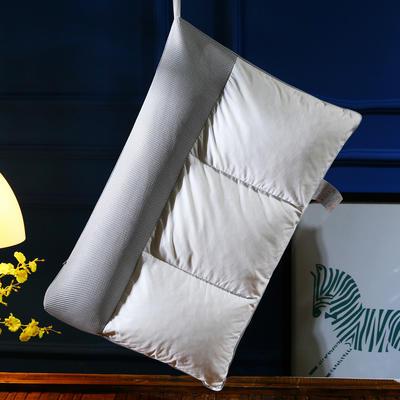 全棉碎乳胶荞麦多功能枕芯护颈椎成人枕头(独家首发) 全棉多功能护颈枕