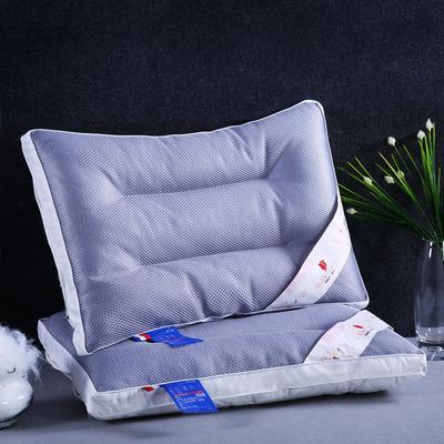 全棉透气荞麦枕头全荞麦壳枕芯护颈枕两用单人硬枕芯 全荞麦两用透气枕