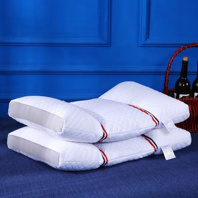 原创全棉绗缝荞麦两用保健枕芯安睡护颈枕头多功能枕 全棉多功能织带荞麦枕1.3