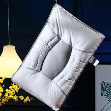 独家全棉决明子网面透气护颈保健枕芯助眠枕头(新款)