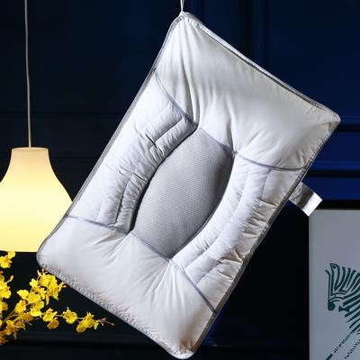 独家全棉决明子网面透气护颈保健枕芯助眠枕头(新款) 全棉决明子加高保健枕(新款)