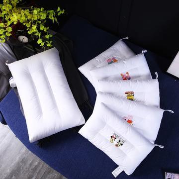 枕芯枕头系列 全棉儿童烫染卡通可水洗枕头 印花定型呵护枕芯