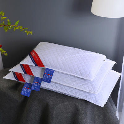 全棉荞麦枕头全荞麦壳枕芯护颈枕荞麦皮儿童单人硬枕两色可选 婴童款-本白 30*50 2斤