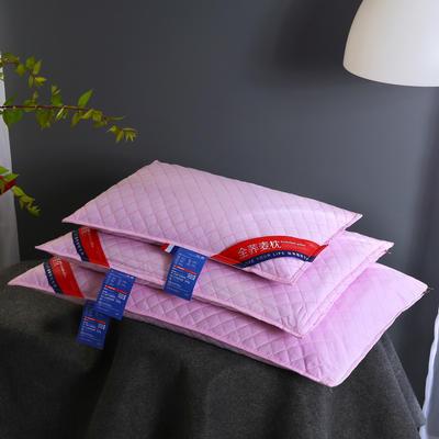 全棉荞麦枕头全荞麦壳枕芯护颈枕荞麦皮儿童单人硬枕两色可选 婴童款-粉色 30*50 2斤