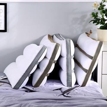 沃兰国际 新品全棉决明子长网透气安睡按摩枕芯助眠定型成人枕头