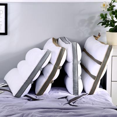 新品全棉决明子长网透气安睡按摩枕芯助眠定型成人枕头 金色