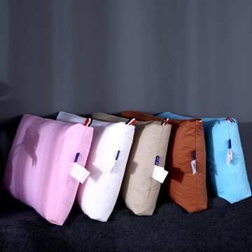 沃兰国际 五星级酒店枕头100%鹅毛枕羽绒鹅毛片颈椎护颈枕芯