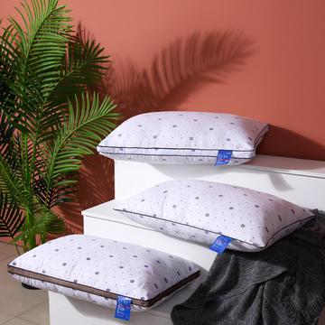 爆款推荐 超柔磨毛印花羽丝绒酒店枕芯护颈椎单人枕头(多规格可选)