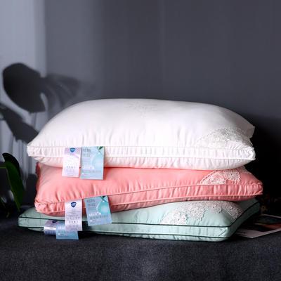 新品玻尿酸枕头家用美肤枕芯立高保湿助睡眠护颈椎单人美容枕 典雅玉