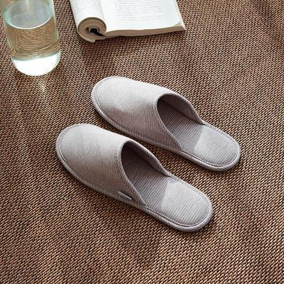 2020新款便携式家居旅行拖鞋 均码(一双) 粉灰