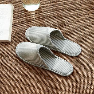 2020新款便携式家居旅行拖鞋 均码(一双) 浅灰白