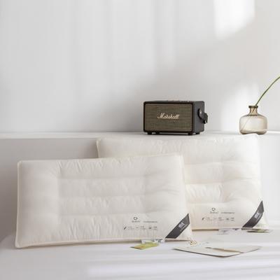 2020新款德绒立体枕枕头枕芯48*74cm/只 德绒立体中枕(6-8cm)