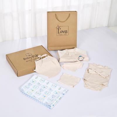 彩棉新生儿快乐长久满月大礼盒 均码 快乐长久