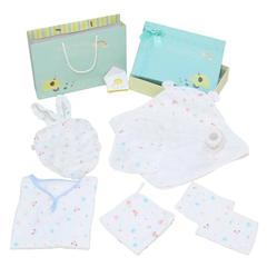 婴童礼盒 新生儿竹纤维清凉大礼包(6件套)招代理 均码 六件套