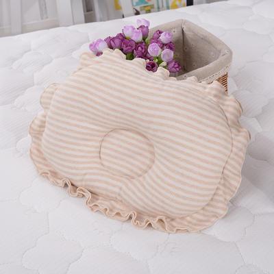 凯芙兰家纺   彩棉新生儿定型枕(向日葵)