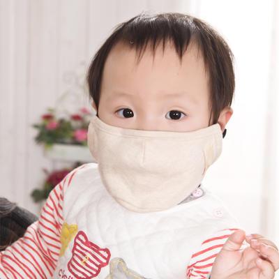 彩棉防雾霾口罩PM2.5 招代理 棕色14*12