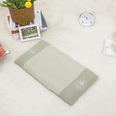 凯芙兰家纺   彩棉喜气洋洋枕(枕套+乳胶枕芯)