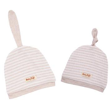 彩棉天线胎帽婴童帽子新生儿纯棉卡通胎帽 免费代理可混批