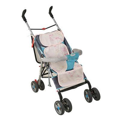 竹纤维推车席/安全座椅席(三段式) 31*75cm(均码) 甜蜜粉
