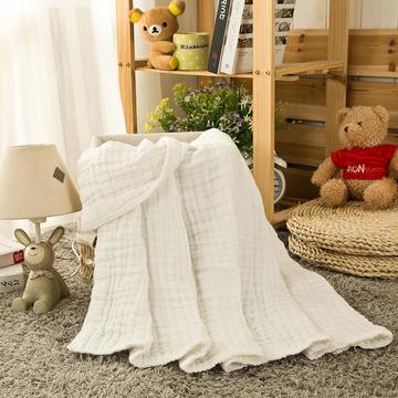 水洗纱布浴巾(1条装)100*100cm