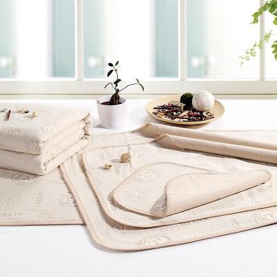 新款彩棉空气层隔尿床垫 60*120cm 彩棉花型随机
