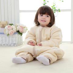 彩棉纱布提花睡袋 婴幼儿睡袋 儿童睡袋 S-60# 梦幻伙伴(三层长袖)