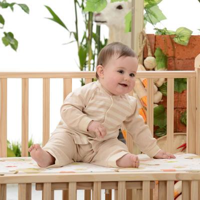 经典款 婴儿防水透气可洗护肚空气层隔尿裤 招代理 73# 棕色